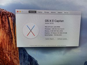 Serious buyers 27 inch iMac i5 processor and 1TB hard drive for Sale in Allen, TX