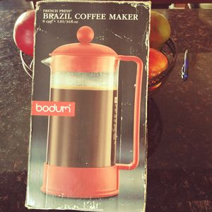 Brazil French press 8cup coffee maker for Sale in North Las Vegas, NV