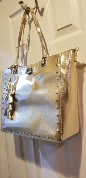 White house black market gold bag for Sale in Dumfries, VA