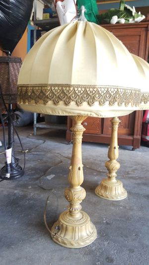 2 Antique Victorian lamps for Sale in San Diego, CA