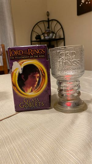 Glass Gobletts collection Frodo The Hobbit for Sale in Oceanside, CA