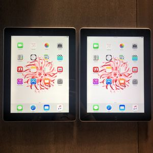 "Lot of 2 Apple iPad Wifi 9.7"" for Sale in Everett, WA"