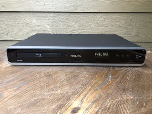 Phillips Blu Ray DVD player - ex condition tested works for Sale in Fresno, CA