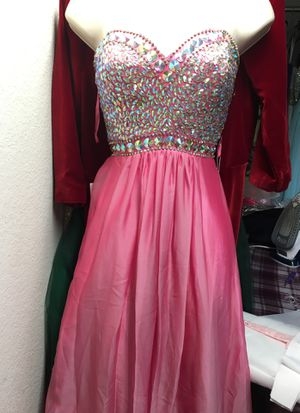NEW Pink Rhinestone Evening Dress for Sale in Fairfax, VA