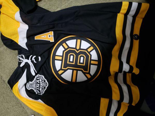 Bergeron Bruins Jersey Medium stitched