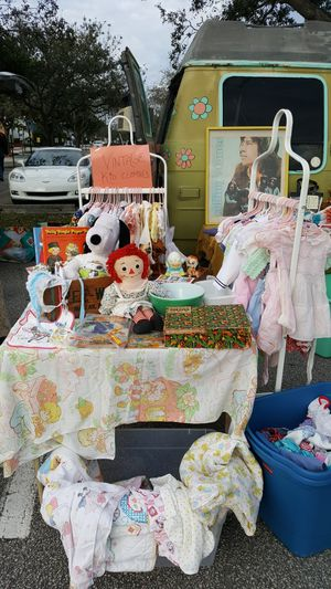 Vintage kids clothes toys for Sale in Miami, FL