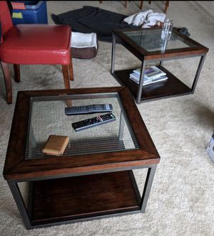 Mid century modern coffee accent tables or end tables x2 for Sale in Bethesda, MD