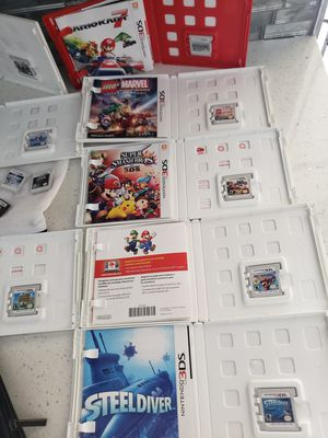18 NINTENDO 3DS GAMES! GREAT CONDITION...SOME LIKE NEW for Sale in Davie, FL