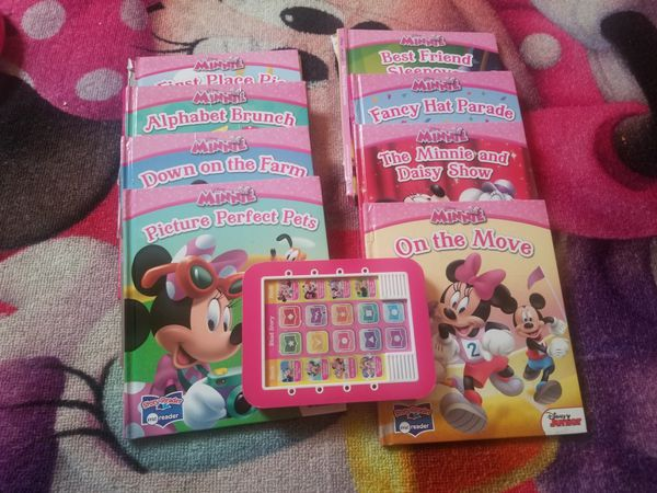 Minnie books collection with me reader