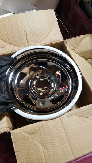 Brand new trailer wheels 2 sets for Sale in Dallas, TX