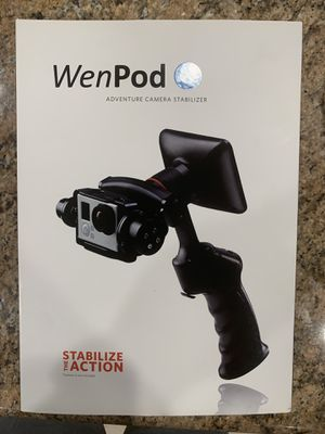 Wenpod Gopro stabilizer with LCD screen for Sale in Corona, CA