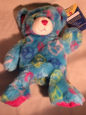 Ready to Be Stuffed Peace Build A Bear w/Tags for Sale in Marietta, GA