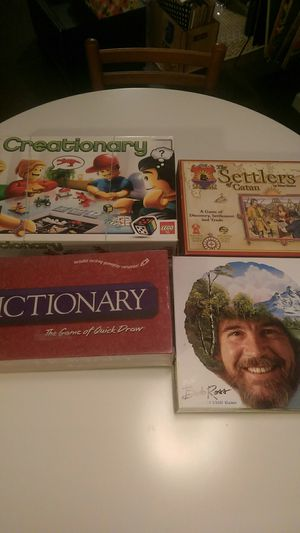Board games for Sale in Richardson, TX