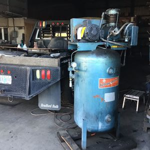 Air Compressor 220 With New Motor for Sale in Molalla, OR