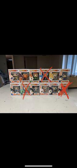 Dragonball Z Common Funko Pops for Sale in Sacramento,  CA