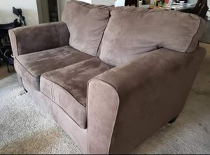 Full brown couch and loveseat set for Sale in Alameda, CA
