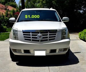 🍁2OO8 Cadillac Escalade/UP FOR SALE * ZERO ISSUES > RUNS AND DRIVES LIKE NEW $1000🌸 for Sale in Atlanta, GA