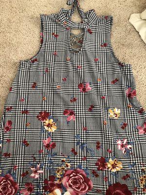 Floral/Plaid Dress for Sale in Monongahela, PA