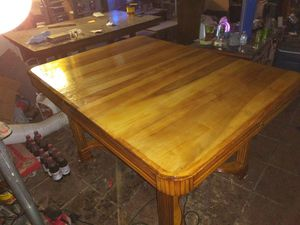 Refinished antique butterfly leaf dining table 800 obo for Sale in Albuquerque, NM