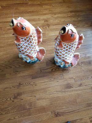 Oriental koi fish statues for Sale in Chesapeake, VA