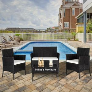Brand new 4 PCS Garden Patio Furniture Set for Sale in Sunrise, FL