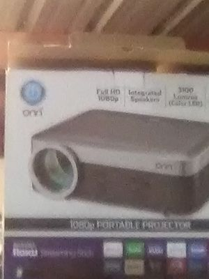 On projector with Roku. Brand new for Sale in Houston, TX
