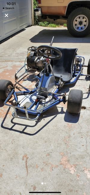 Shifter kart frame with brand new 212cc/brand new clutch. for Sale in Irwindale, CA