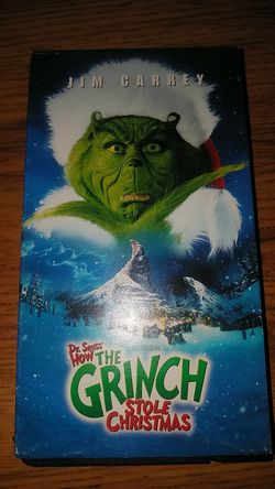 How The Grinch Stole Christmas (w/ Jim Carrey) for Sale in Phoenix,  AZ