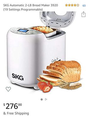 SKG bread maker 3920 for Sale in Bloomington, CA