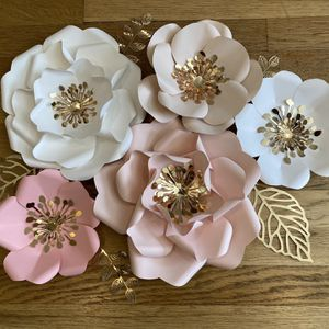 Handmade Paper Wall Flowers for Sale in Queens, NY
