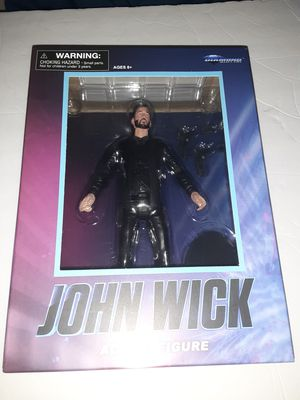 Diamond Select John Wick Action Figure Walgreens Exclusive Action Figure NEW for Sale in Miami, FL