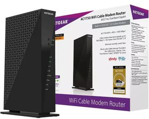 NETGEAR AC1750 WIFI CABLE MODEM ROUTER for Sale in New Rochelle, NY