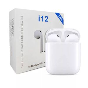 i12 Wireless Earphones TWS 5.0 Headphone Bluetooth for Apple, Android for Sale in St. Louis, MO
