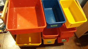 Two storage container sets for Sale in Chicago, IL