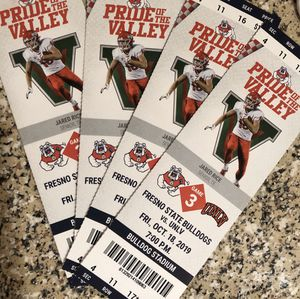 Fresno State football game this Friday for Sale in Fresno, CA