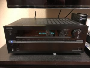 Onkyo TX-NR747 175-Watt 7.2-Channel Network A/V Receiver with Wi-Fi & Bluetooth (Black for Sale in Rowland Heights, CA