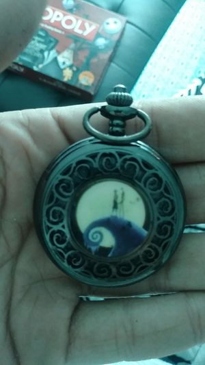 Nightmare Before Christmas Pocket Watch for Sale in Seffner, FL