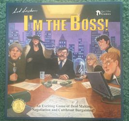 I'm The Boss Boardgane for Sale in Portland,  OR