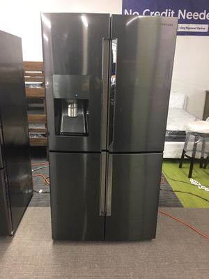 Samsung Black Stainless Steel With Chosecase With Warranty No Credit Needed Just $54 Down Payment Cash Price $1,800 for Sale in Garland, TX