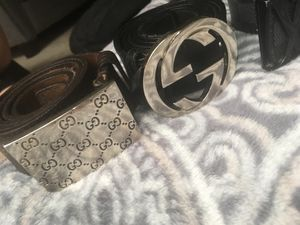 Gucci belts 100% authentic for Sale in Aldie, VA