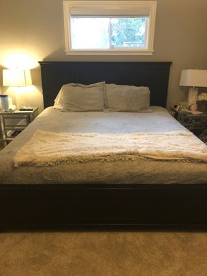 Black King Bed Frame for Sale in Pleasanton, CA