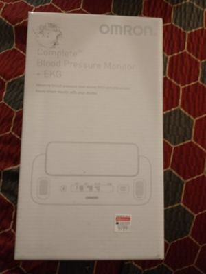 Omron. Complete Blood Pleasure Monitor + EKG. for Sale in Riverside, CA