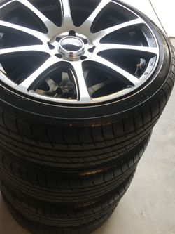 17'Rims And Tires for Sale in Manteca,  CA