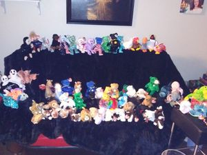 ADDED: see new pics for add onsBeanie Babies galore!! for Sale in Newark, CA