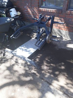 Squat Machine with weights for Sale in Cedar Hill, TX