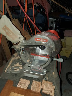 Home craft miter saw for Sale in Hemet, CA
