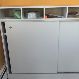 White Formica Cubby Storage Bin for Sale in Commack, NY