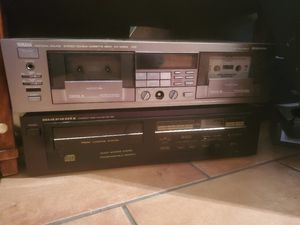 yamaha double cassette deck. (Marantz cd player is gone, cassette deck only) for Sale in Scottsdale, AZ