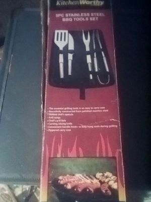 Kitchen worthy BBQ kit for the grill.. for Sale in Las Vegas, NV