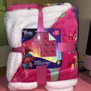 Trolls World Tour Soft Blanket Twin/Full *NEW* for Sale in Glendale, AZ